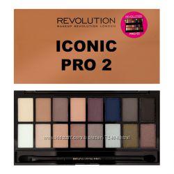 Палетка теней Iconic Pro 2 Makeup Revolution