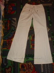 Летние беленькие штаники