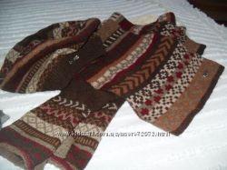 продам комплект шапка, шарф, минетки
