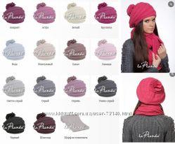 Роскошный набор шапка и шарф от LaPlanda