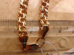 Браслет золото 585 пробы, вес 10. 13 гр, р. 21, ширина 5 мм, новый