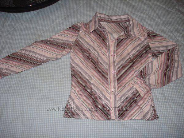 Блузка для школьницы, рост 116-122