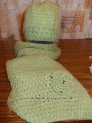 Комплетики   шарф шапка