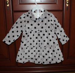 Стильное пальтишко для девочки, Marks&Spencer