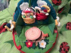 Мягкий развивающий грибочек кs kids