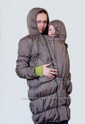 Зимняя и демисезонная куртка, слингокуртка,  куртка для будущих мам 6в1