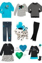 Новая красивая одежда для маленьких модниц из США
