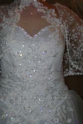 Шикарное салонное платье