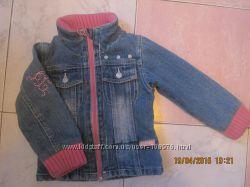 Курточка джинсовка на девочку