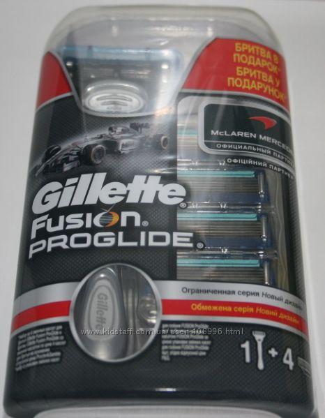 Супер предложение 5 сменных лезвий Fusion Proglide станок в подарок