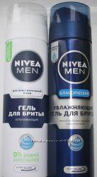 Гели и пены  для бритья Nivea в наличии. Чувствительная кожа и классический