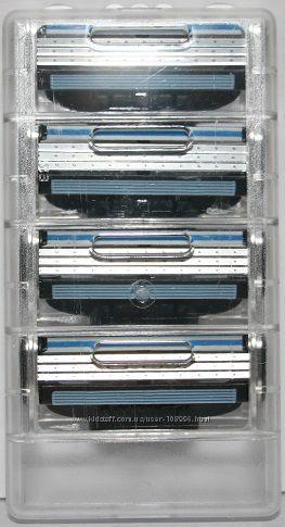 Эноном предложение оригинальные лезвия GILLETTE Mach3  4 штуки без упаковки