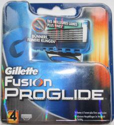 Лезвия GILLETTE Fusion proglide оригинал Германия 4 штучки в упаковке