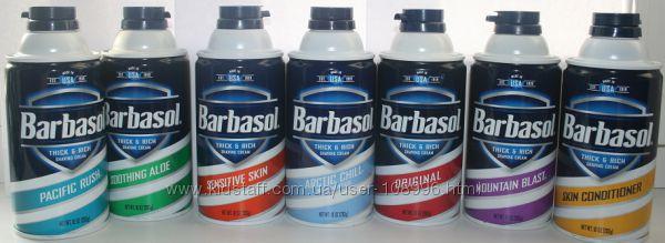 Американская супер пена для бритья и лосьон после бритья BARBASOL