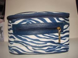 Яркая сумка и косметички от ESTEE lAUDER, Lancome,