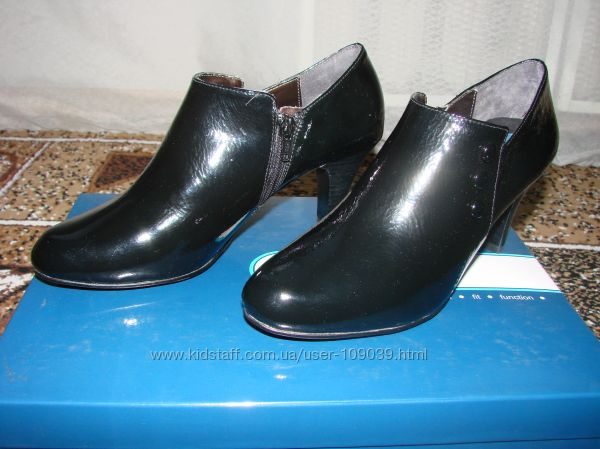 Ботиночки натуральная кожа, супер удобные Fitzwell