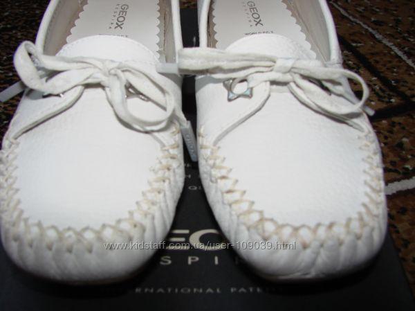Мокасины для девочки , Geox 34 размер, туфли