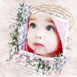 Фотокнижка о вашем малыше или малышке.