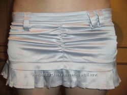 атласная юбка  р-р XS-S