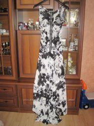 вечернее платье со шлейфом на хс-с, Америка