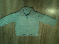 Обалденное , стеганое пальто. рост 98-104см