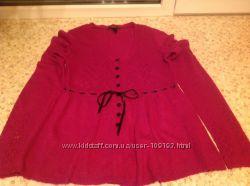 Продам шикарний светр  можна для вагітнних , фірми манго , рзмір М .