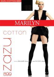Теплые заколенники чулки хлопковые Marilyn Zazu Cotton 899