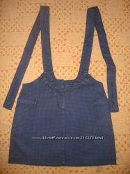 Юбочка с подтяжками Gloria Jeans на 146 см.
