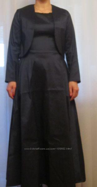 Выпускное платье с болеро в отличном состоянии