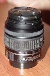 Объектив SMC-Pentax DA L 13. 5-5. 6  18-55 мм AL в отличном состоянии
