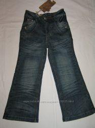 Последние классные джинсы девочкам - на 110-112см