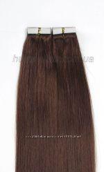 Волосы для наращивания на липких лентах