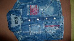 джинсовый пиджак глория джинс р. 104