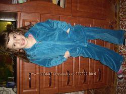 красивый и качественный велюровый костюмчик SELA на 5 лет