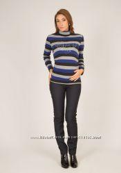 Теплые джинсы для беременных, леггинсы на меху