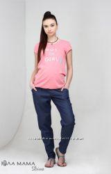Брюки и джинсы для беременных летние - в наличии