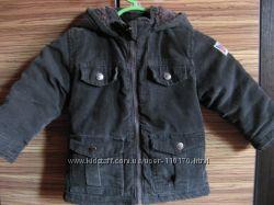 Стильная вельветовая деми куртка  р. 86