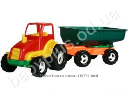Большие Тракторы, экскаваторы пластмассовые