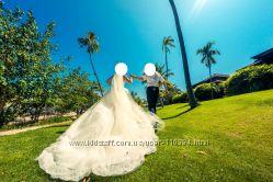 Cказочное свадебное платье