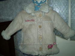 демисезонное пальто, дубленка на девочку
