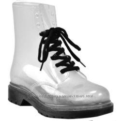 Резиновые ботинки ZIGI Seethru