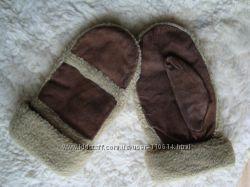 Теплые рукавицы на искусственном меху