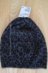 Новая теплая шапочка с ангорой- производство  H&M