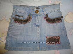 Юбка джинсовая, размер S