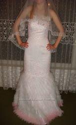 Нежное платье в стиле рыбка от Alyce