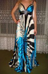 Сногсшибательное вечернее платье Night Moves в пол