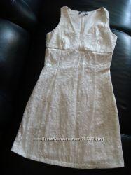 кружевное белое платье RINASCIMENTO
