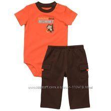 Одежда на мальчика на 0-6 мес. , в наличии, новое, с сайтов США и Англии