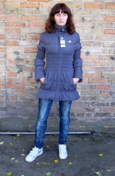 Модна куртка Аdidas на синтепоні