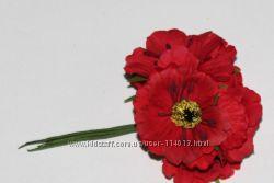 СП цветы, маки, калина, тычинки для рукоделия